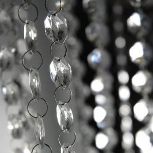 guirlande diamant acrylique pour décoration de mariage