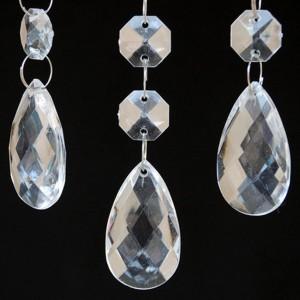 pampille diamant pour décoration de mariage