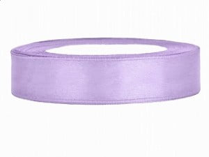 ruban satin lilas clair