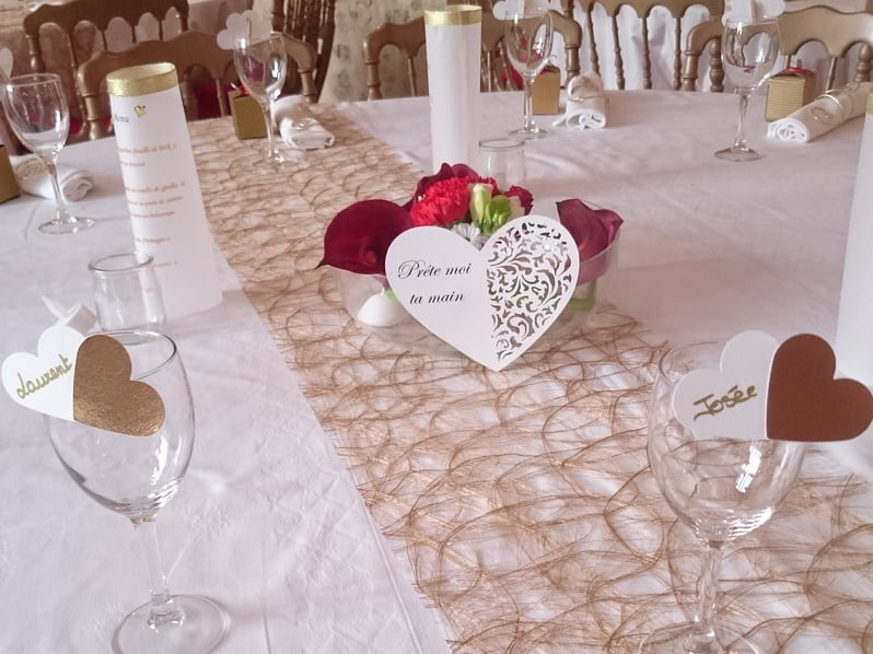 Mariage D Hiver Or Et Blanc Anyflowers Fr